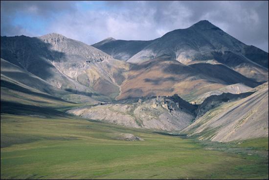 The Sadlerochit Mountains